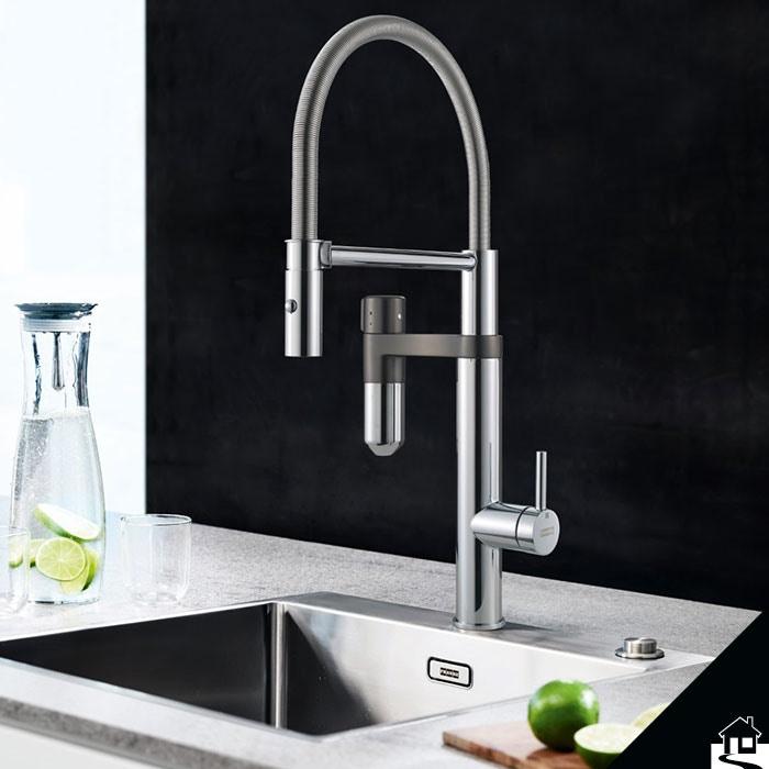 Multifunctionele keukenkranen: kokend, gefilterd, gekoeld, bruisend én exact gedoseerd water