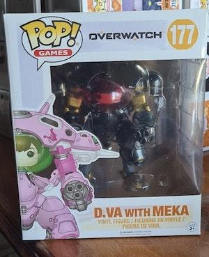 D.VA with MEKA (carbon fiber) - #177