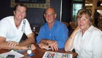 Glenn 'Millard' McGrath open  bowls for NSW Caravan, Camping 4WD Supershow