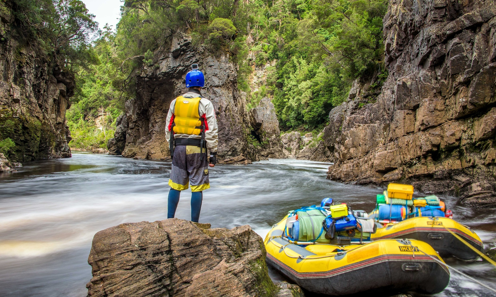 Whitewater Rafting: taking on the mighty Franklin