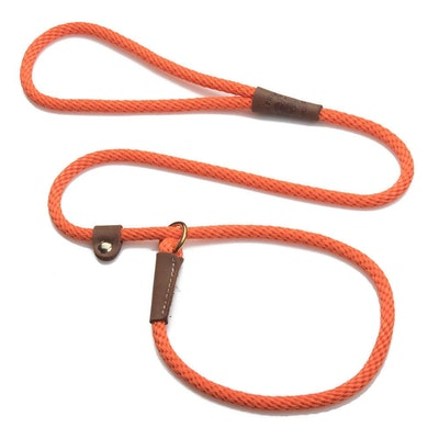 "Mendota Products Mendota British Style Slip Leash Small - lengths 3/8"" x 4'(10mm x1.2m)"