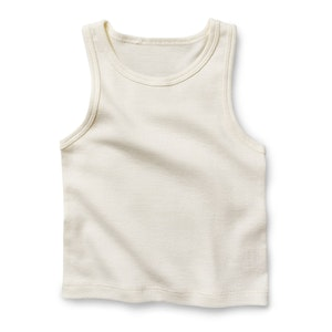 On Chic Baby Clothes Fibre for Good Organic Cotton Baby Singlet
