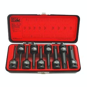 SP Tools Torx Impact Socket Set 9pc T20 - T70