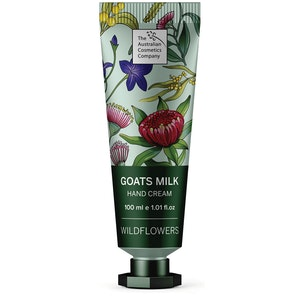 The Australian Cosmetics Company Goats Milk Hand Cream Wild Flower 100ml