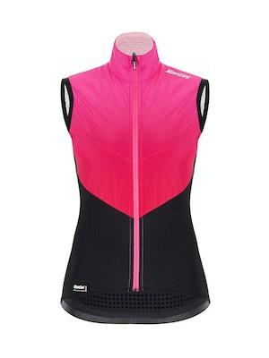 Santini Redux Genio Vest Rose Pink WMN