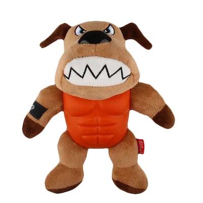 GIGWI Im Hero Armoured Dog Plush w/ Squeaker Dog Toy
