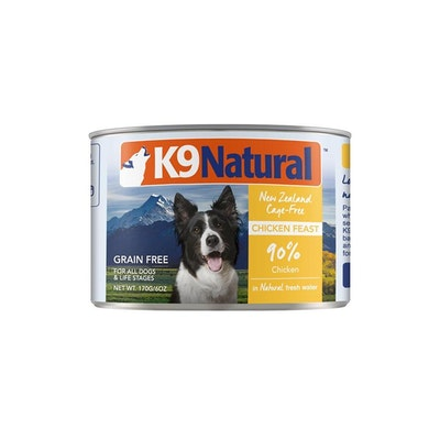 K9 Natural Chicken Feast Canned Dog Food 170G