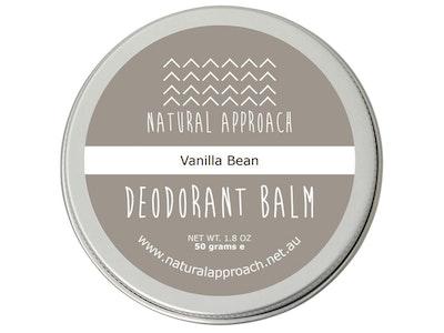 Natural Approach 50g - Vanilla Bean - Natural Deodorant