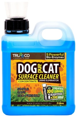 Trueeco 5 Litre Concentrate DOG AND CAT SURFACE CLEANER (CREATES 100 LITRES READY2USE)