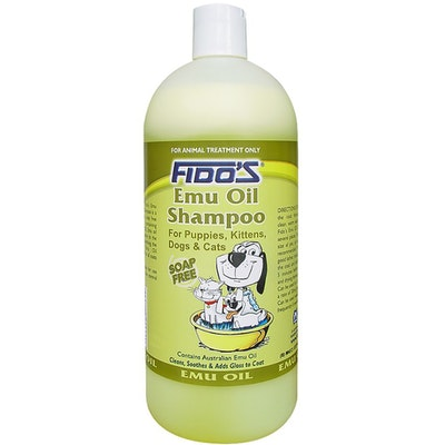 Fidos Emu Oil Dogs & Cats Grooming Aid Shampoo - 3 Sizes