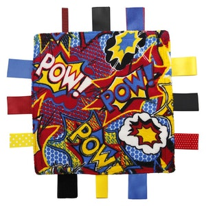 Sensory Taggies: Pow!