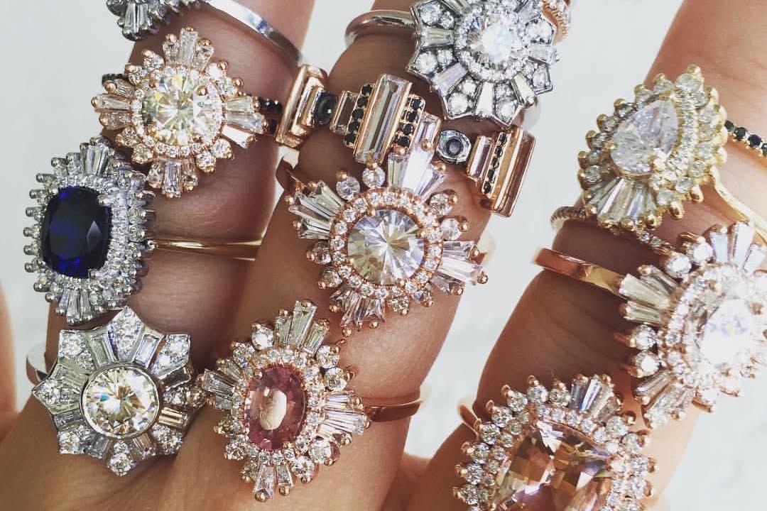 NON-DIAMOND ENGAGEMENT RINGS