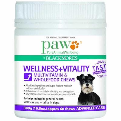 Paw Wellness & Vitality Multivitamin Chews  300g
