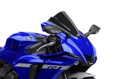 Yamaha R1/R1M 2020 - Onwards Puig Z-Racing Screen (Black)