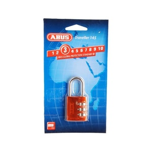 ABUS Combination Padlock 145/30 - Red