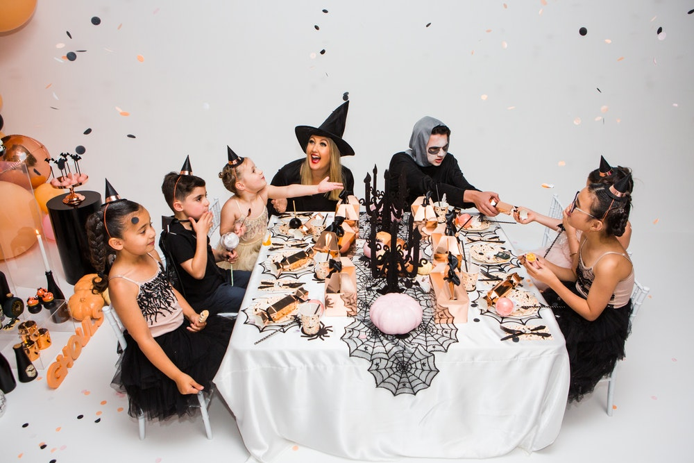 Sweet and spooky #ghoulsquad Halloween party