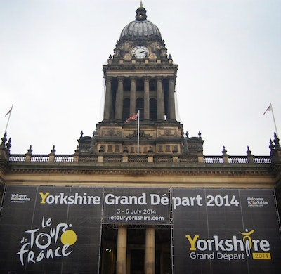 Yorkshire start of the 2014 Tour de France