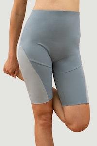 1 People Portland Biker Shorts in Agate Grey