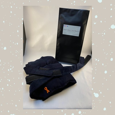 Heat Wear You Need It Wearable Back Pad - Lavender | SMALL