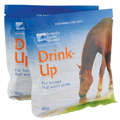 KENTUCKY EQUINE RESEARCH Ker Drink Up Horse Thirst Stimulant 20 x 80g