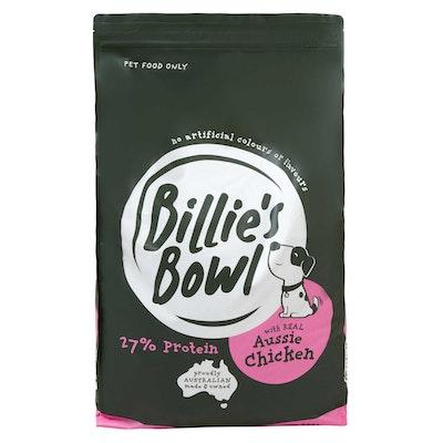 Billie's Bowl Puppy with REAL Aussie Chicken Dry Dog Food 10kg