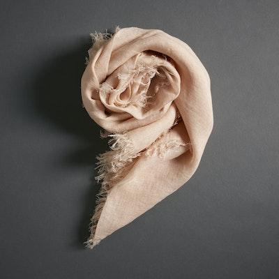 Global Sisters Shop Linen Scarf - Old Rose