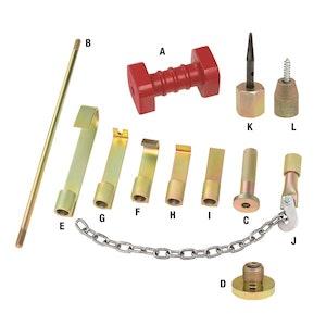 Toledo Slide Hammer Dent Removal Kit