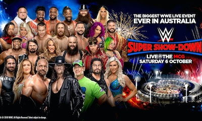 The Biggest WWE Live Event Ever in Australia - WWE Super Show-Down
