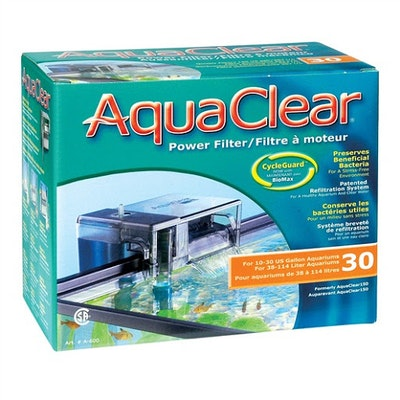 Aquaclear 30 / 150 Hang On Power Filter