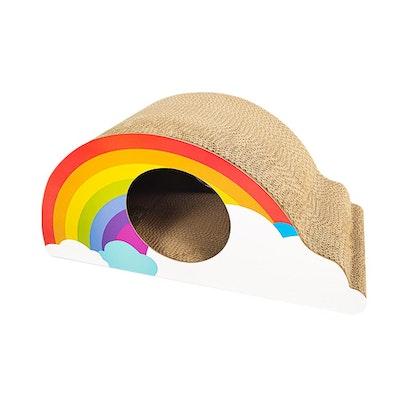 ZODIAC Rainbow Cat Scratcher