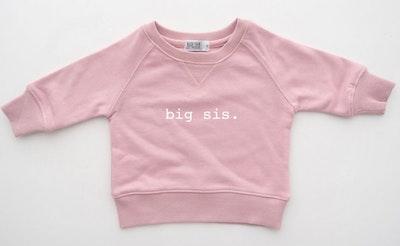 Big Sis Sweater - Blush Pink