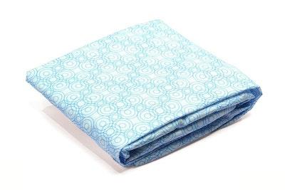 Luxo Sleep Lollipop Fitted Sheet Blue