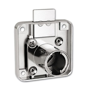Firstlock CL First Lock 32mm projection square back cupboard, draw or furniture lock keyed alike.