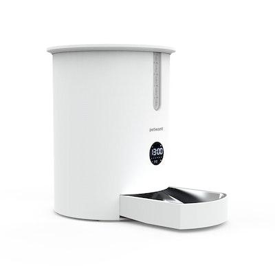 petwant F3 LED Mini Automatic Pet Feeder Cat Dog Food Dispenser