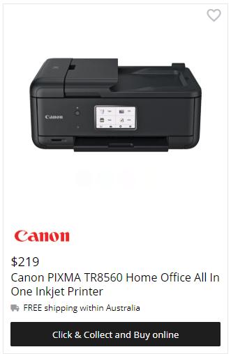 Canon PIXMA Home TR8560 Printer