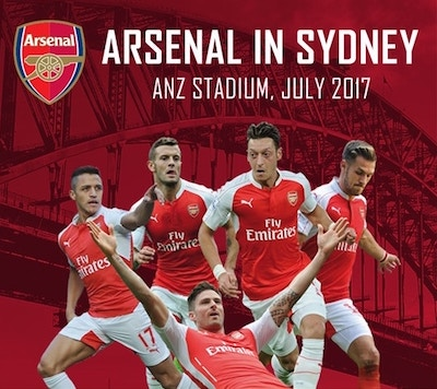 The Gunners set to fire in Sydney