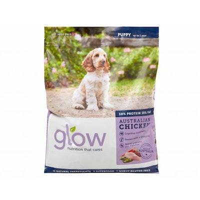 GLOW Puppy Australian Chicken Dry Dog Food 10kg