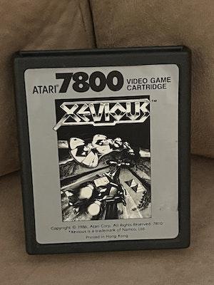 Atari 7800 Xevious Cart