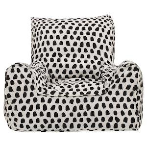 Play Pouch Splotches Bean Chair - Black & White