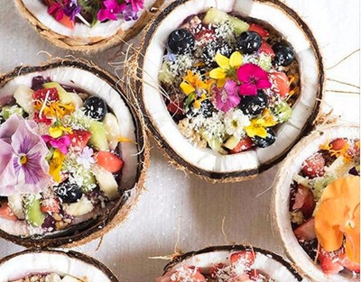 TREND WATCH: EDIBLE FLOWERS
