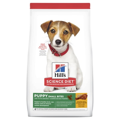 Hills Hill's Science Diet Small Bites Puppy Dry Dog Food