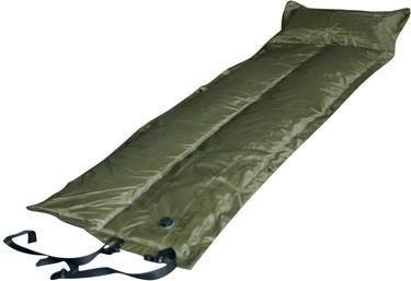 Trailblazer Self-Inflatable Air Mattress With Pillow | Olive Green