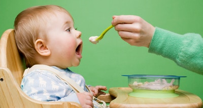 Getting your baby started on solids