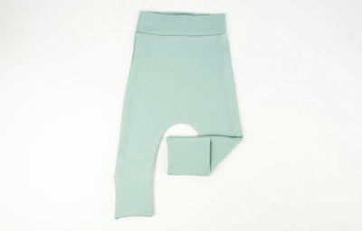 Toe Cover Harem Pants - Mint