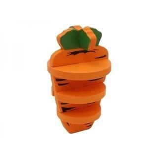 Woodies 3-D Carrot