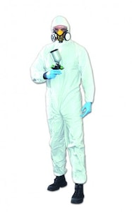 Disposable Coverall White 1 Piece - 3 Sizes Available