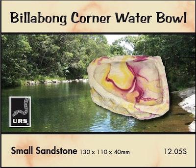 URS Corner Bowl Sandstone Small 130x110x40mm