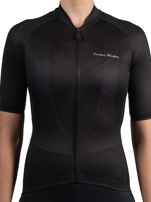 Pedal Mafia Women's Tech Jersey - Black
