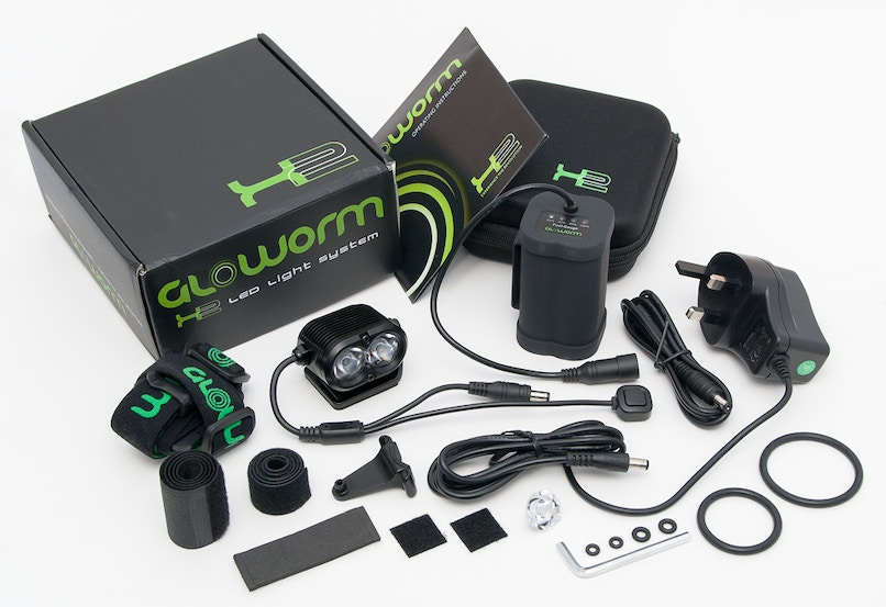 Gloworm X1 850 Lumen, Lights