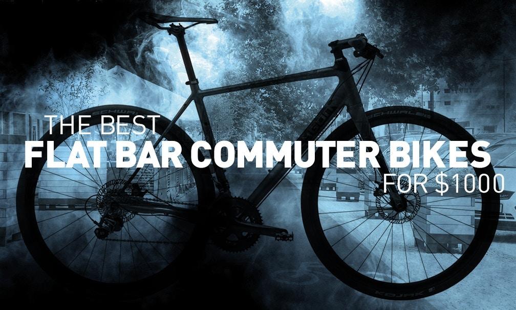 The Best Flat Bar Commuter Bikes for $1,000